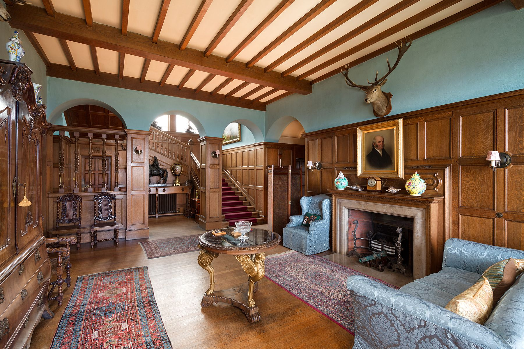 Castle Interior Design Property http://www.worldpropertyjournal/newsassets/castleinterior2