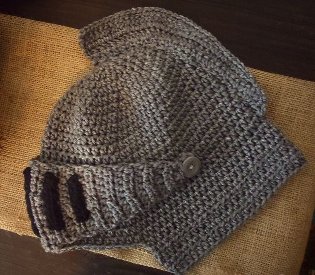 Knight Hat/Ski Mask pattern by Beckie Timmers | Hats ...