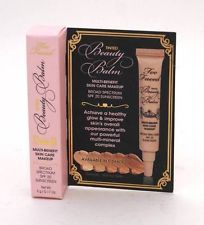 Too Faced Beauty Balm in Nude Glow, Deluxe Sample .17 oz New (no box) $4