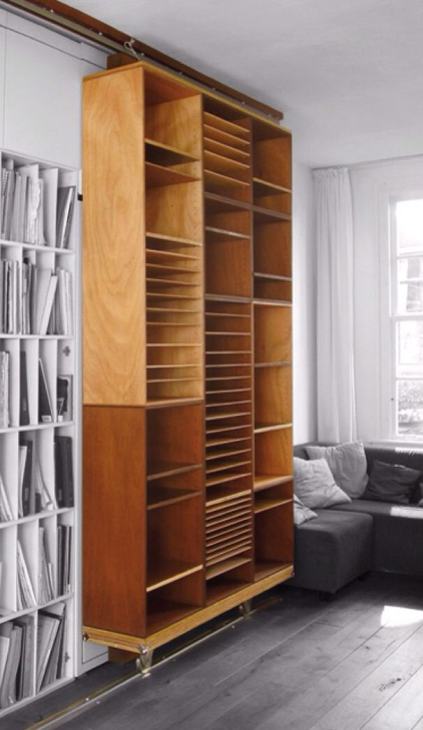 Layered cabinets