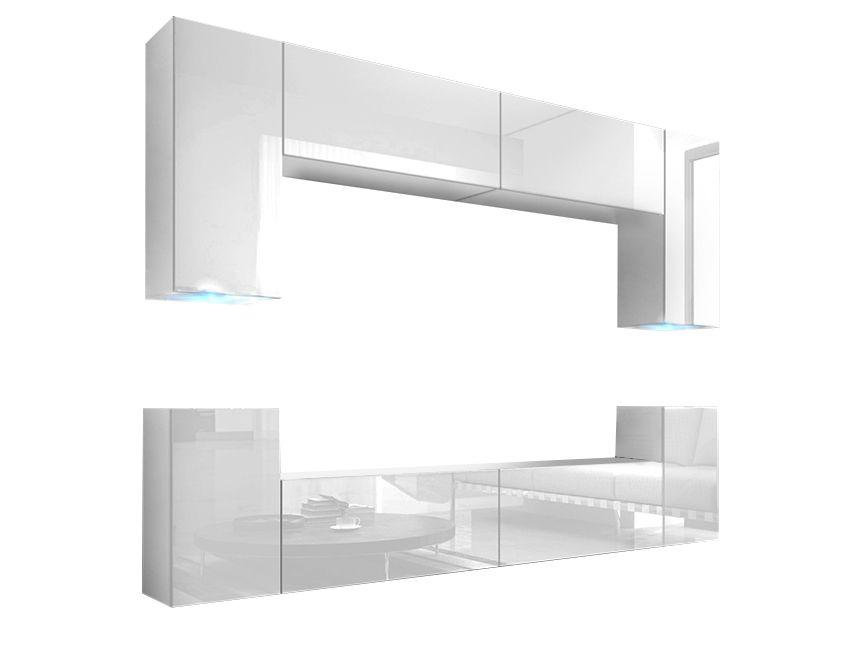 Mueble de Salón Berg Blanco Brillante – Prime-Home España   Muebles ...