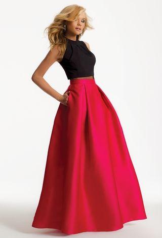 76b793fca0 Illusion Waist Two-Piece Dress from Camille La Vie