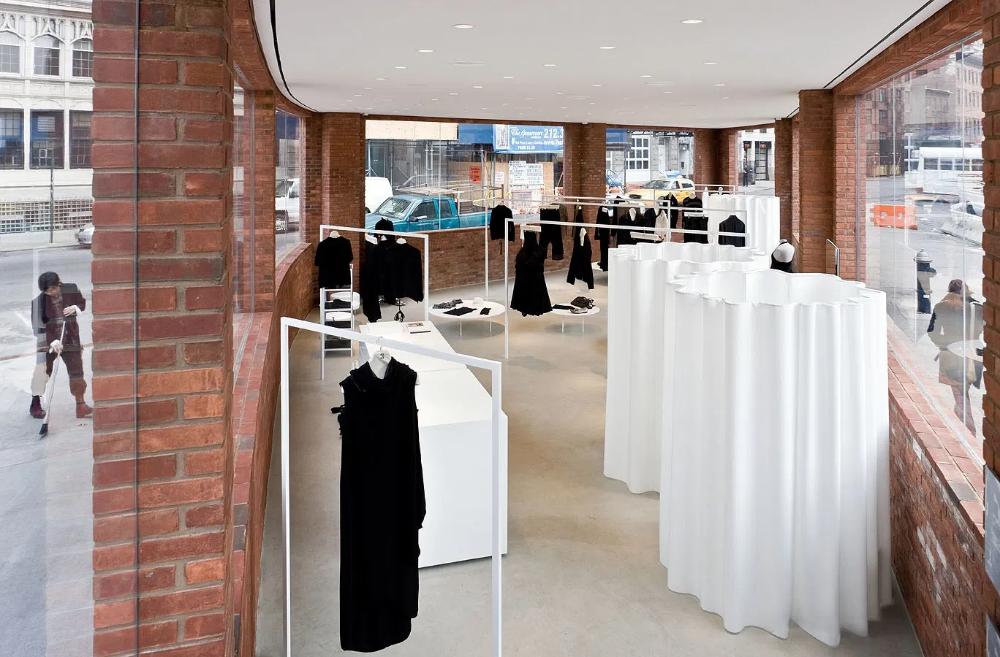 Yohji Yamamoto Store New York City Usa Junya Ishigami Iwan Baan Yohji Yamamoto Yamamoto Fashion Store Design