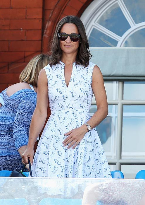 Pippa Middleton nails summer chic in Tory Burch dress -   11 hair Summer tory burch ideas