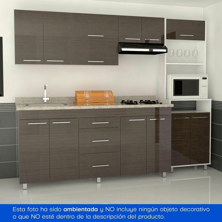 Rta Design Combo Cocina integral 1.80 m Scenica + Mueble campana + ...