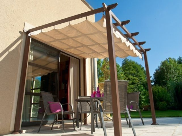 pergola retractable hesperides terrasses et pergolas pinterest pergola retractable. Black Bedroom Furniture Sets. Home Design Ideas