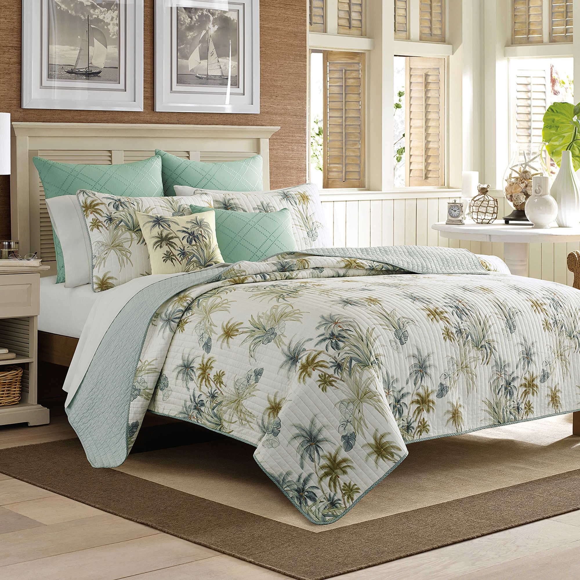 Tommy Bahama Serenity Palms Quilt Arianne And John Pinterest Tommy Bahama And Bedding Sets