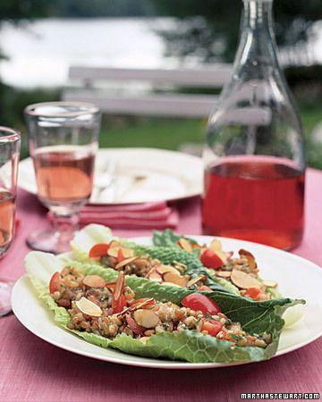 Kashi, Mint, and Almond Salad, Wholeliving.com