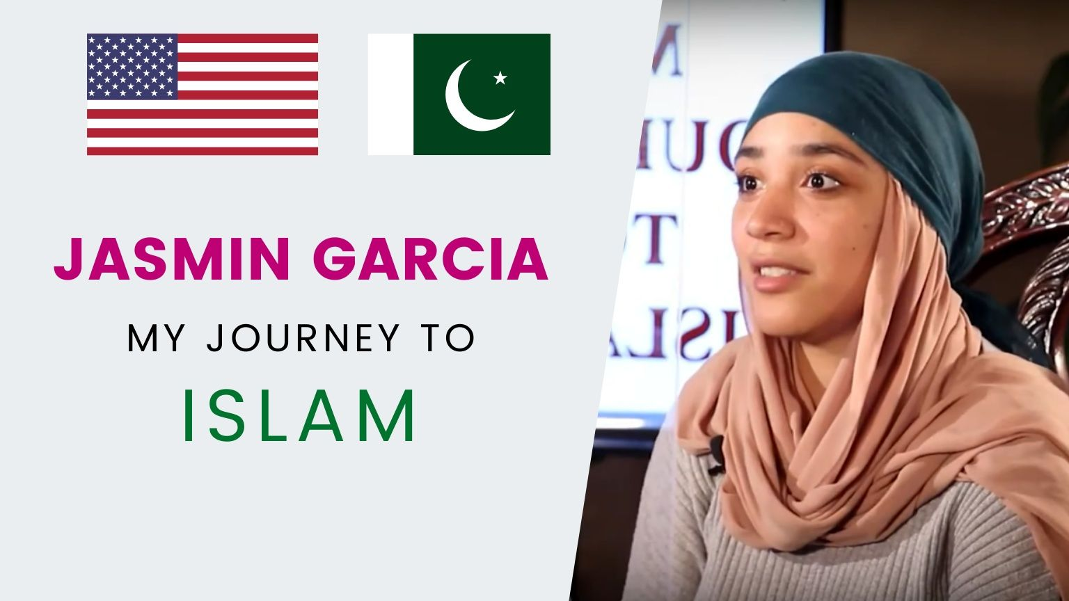 JASMIN GARCIA | My search for God led me to Islam