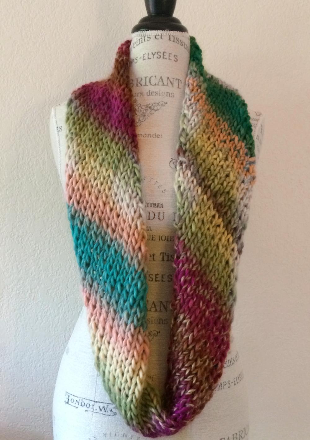 ab4c53a8a Big Time Cowl Free Knitting Pattern