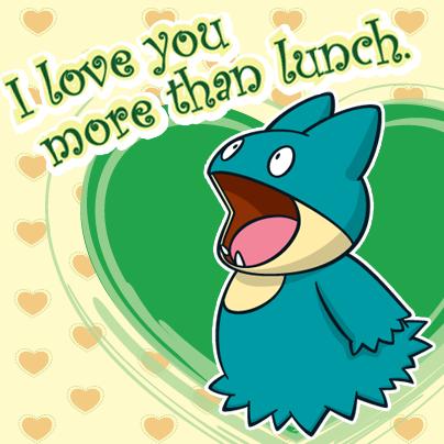 #Pokemon #Munchlax #ValentinesDay