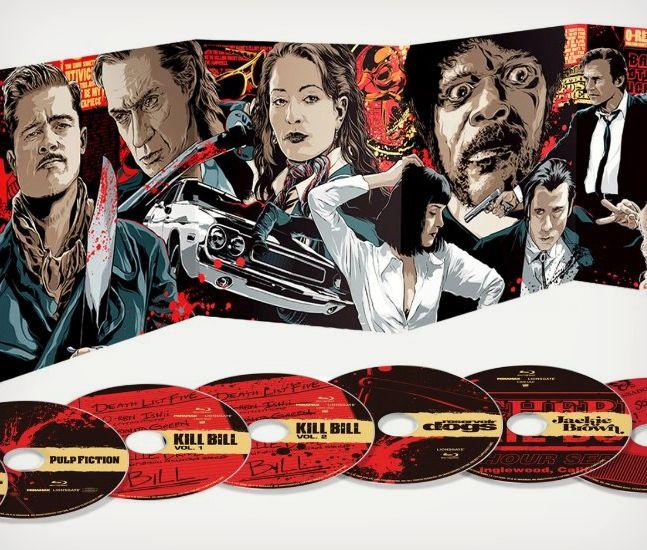 Tarantino XX Film Collection Blu-Ray | Cool Material