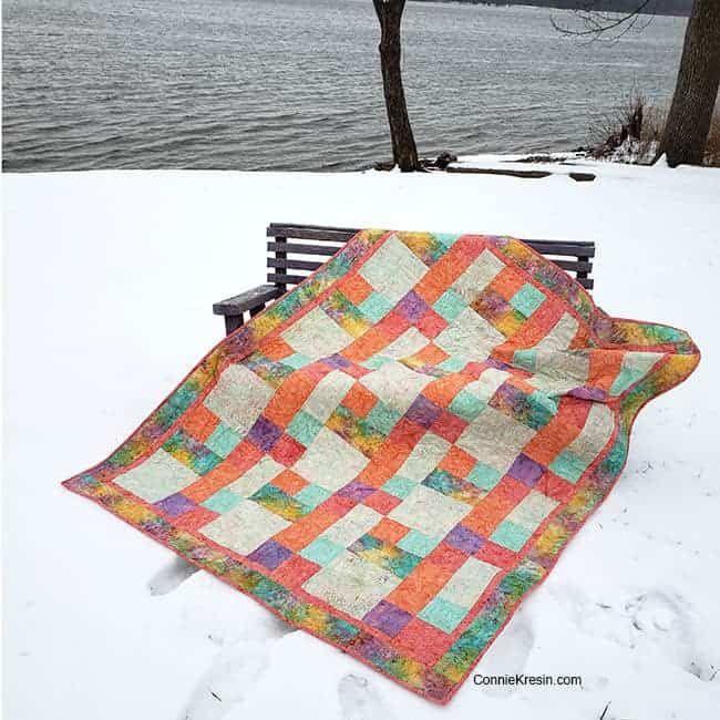 Sorbet An Easy Beginner Quilt Pattern