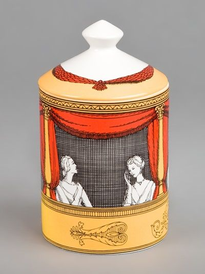 FORNASETTI - Teatro printed scented candle 5