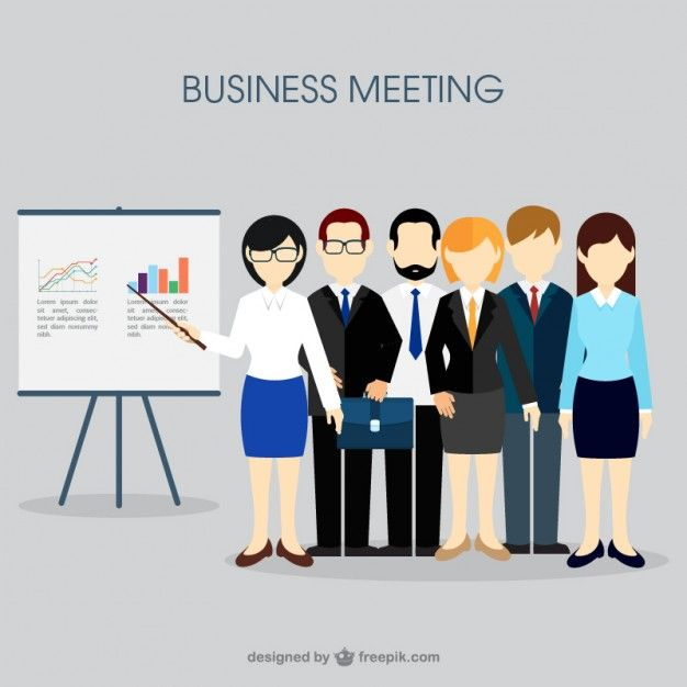 Download Business Meeting Concept For Free Freelance Business Business Meeting Business Website