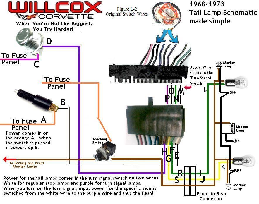 corvette c6 tail light wiring diagram corvette free wiring diagrams rh dcot org Basic Tail Light Wiring Chevy 1992 Chevy Truck Tail Light Wiring