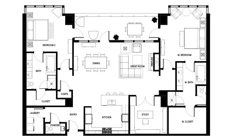 High Rise Condo Floor Plans Live At The Landmark Condo Floor Plans Floor Plans Norfolk House