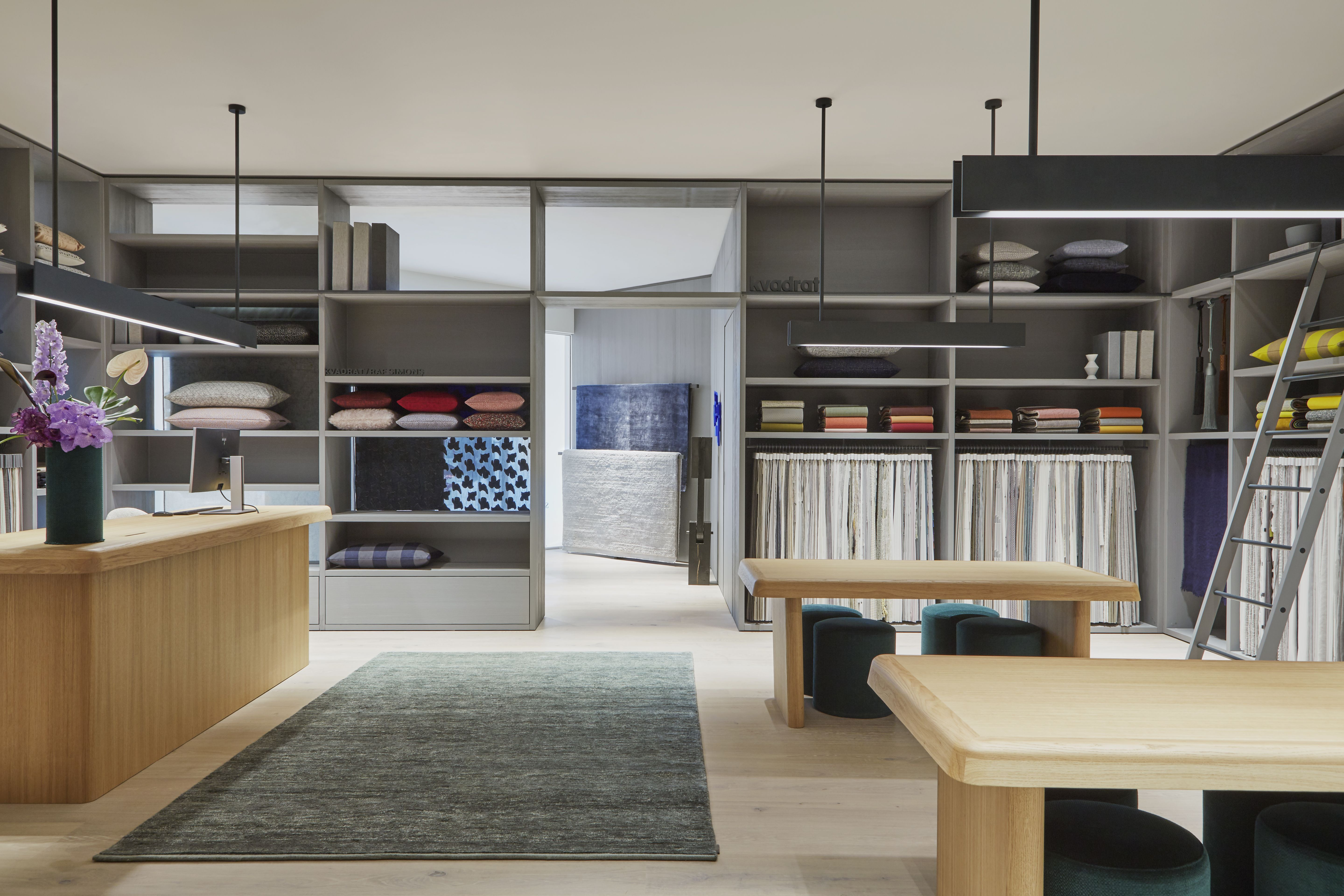 Our First Ever Residential Showroom Kvadrat At Home In Chelsea Harbour