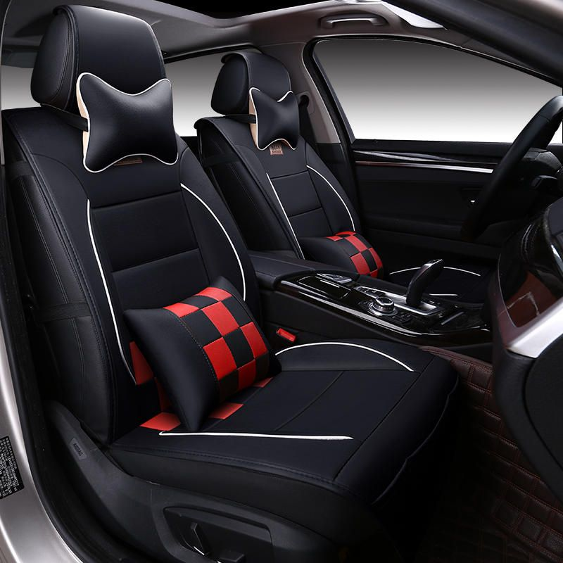 Sports Car Seat Cover Cushion Highgrade Leather Car Accessories - Sports cars with 5 seats