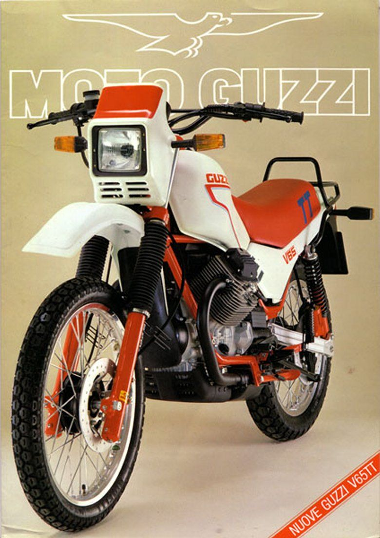 Moto Guzzi V65 Tt Moto Guzzi Vintage Italian Posters Moto