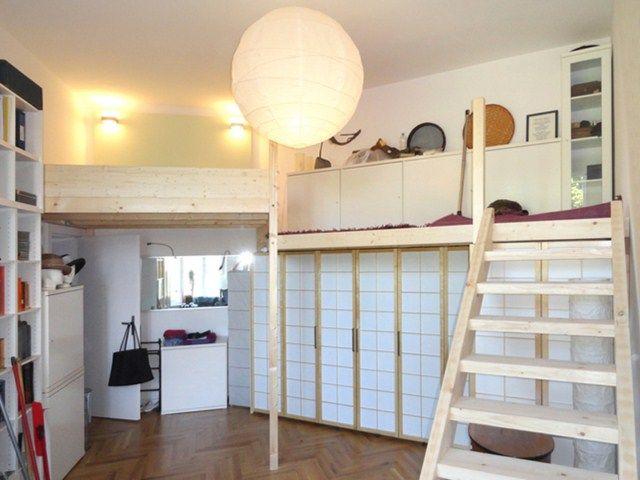 pin von thomas kr ger auf buildyour second floor pinterest hochbett bett und hochbett. Black Bedroom Furniture Sets. Home Design Ideas