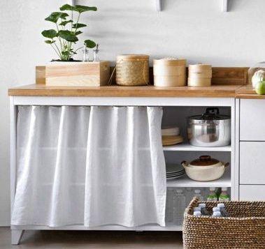 meuble rideau cuisine rideaux cuisine