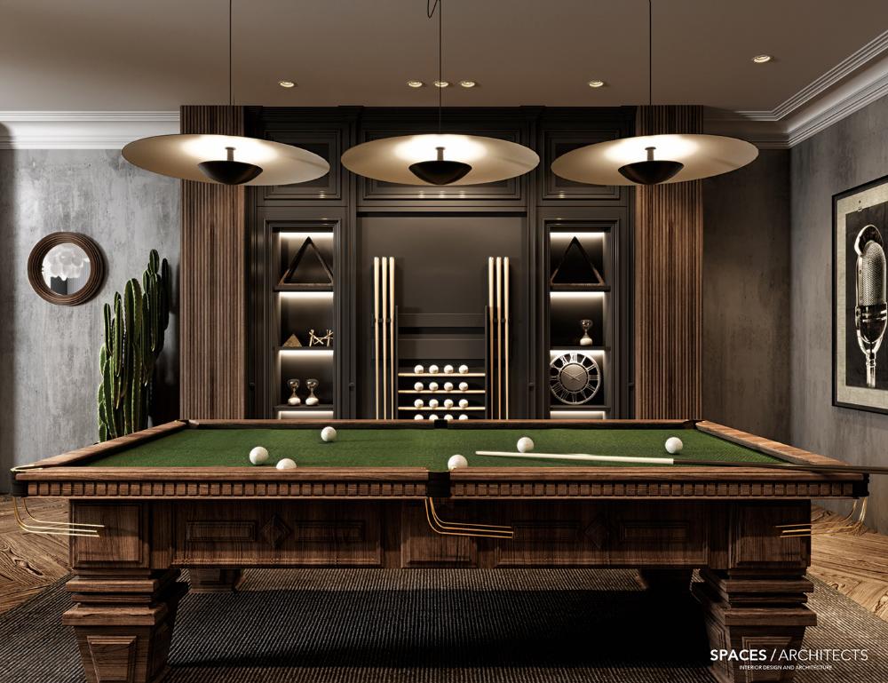 Entertainment Room on Behance 空间