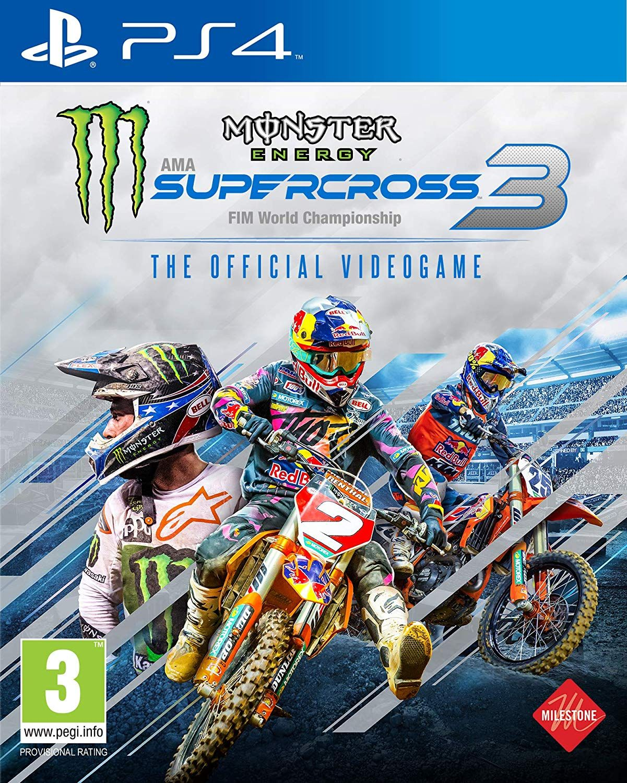 Monster Energy Supercross 3 (PS4) in 2020 Monster energy