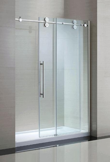 45 Best Creative Shower Doors Design Ideas For Bathroom Shower Sliding Glass Door Bathroom Shower Doors Shower Remodel