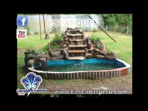 148 cascadas artificiales piletas muro lloron panel for Accesorios para piscinas cascadas