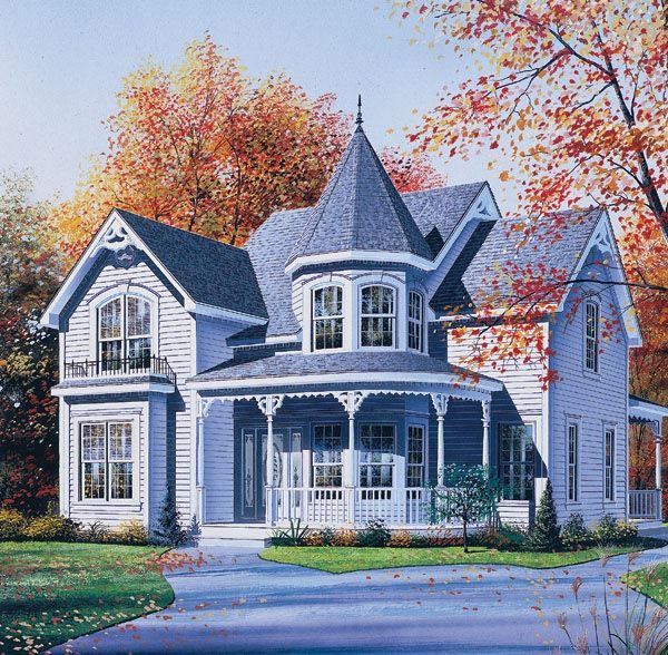 victorian house plan 65256 car garage victorian and bedrooms