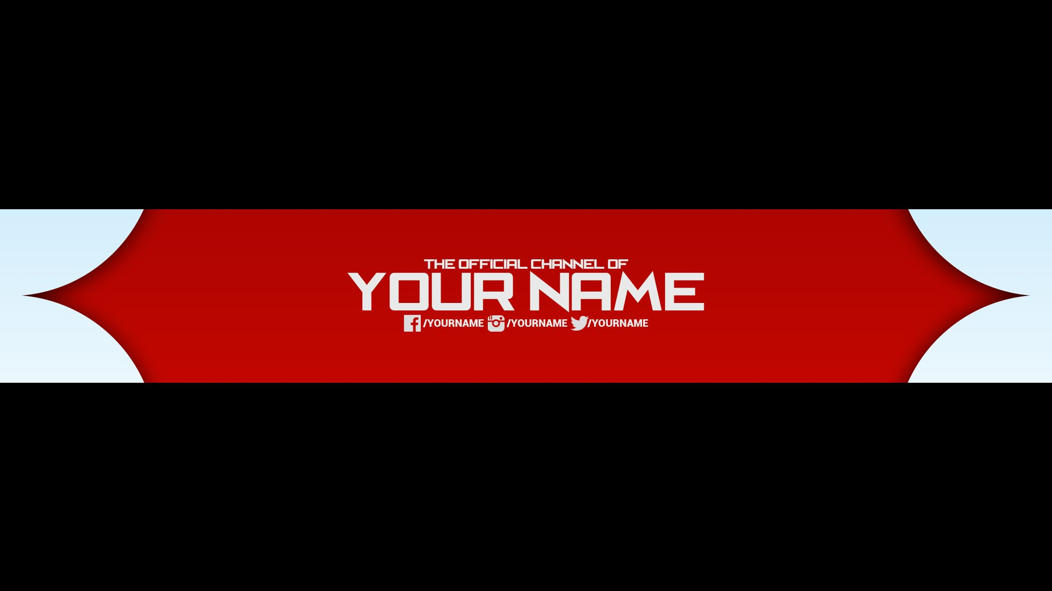 FREE YouTube Banner Template 27 DOWNLOAD NOW I