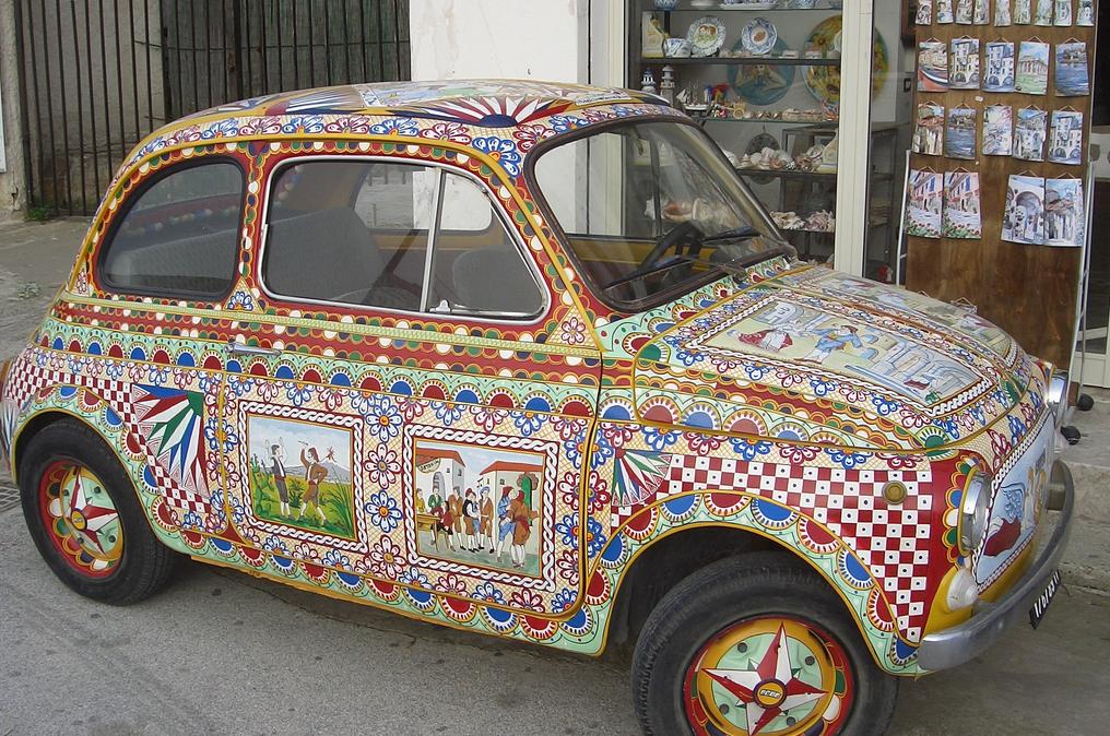 Il veiculo siciliano