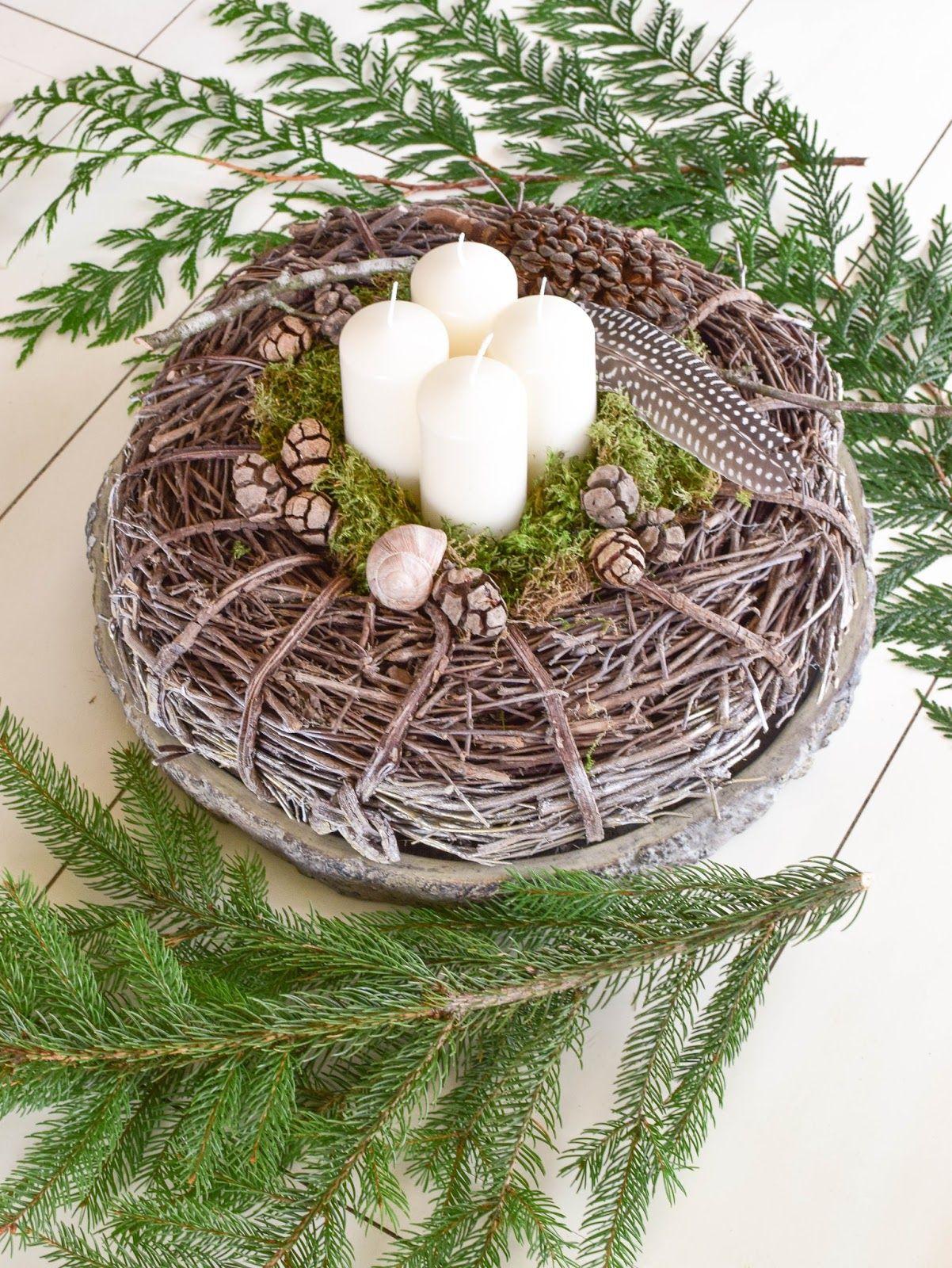 sch ne nat rliche adventskr nze 4 tolle ideen f r euch adventskranz ideen dekorationsideen