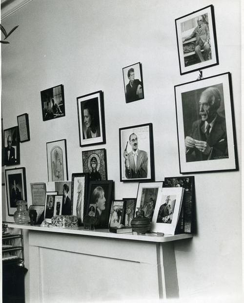 T. S. Eliot's office, taken at the Faber office on Russell Square the day after Eliot's death in 1965.(c) the Estate of Stephen Moreton-Prichard