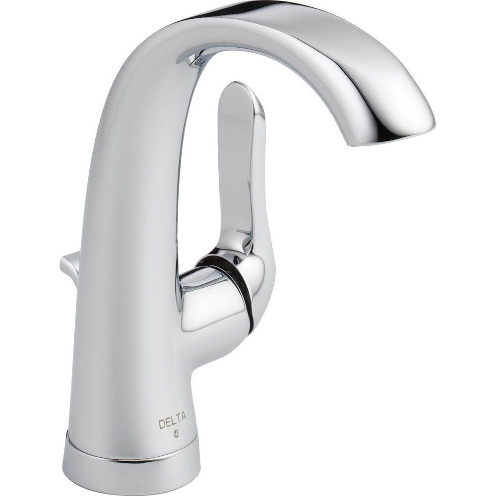 Delta Faucet 15714lf Eco Soline 1 2 Gpm Single Hole Bathroom