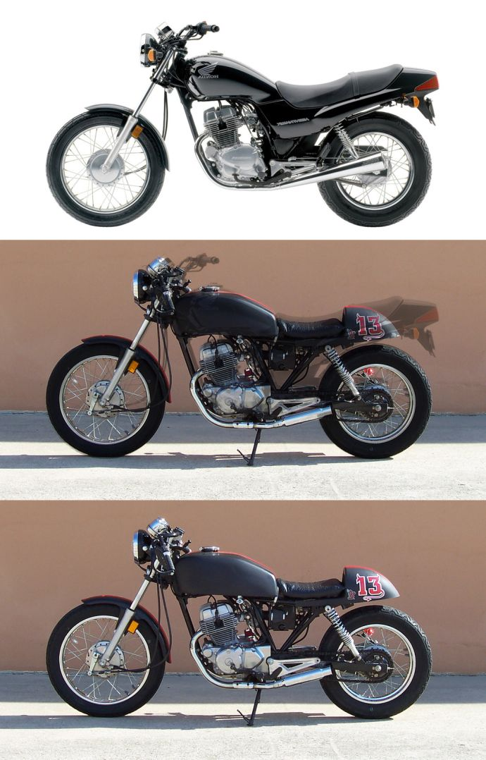 Honda CB Two Fifty Cafe Racer 1993