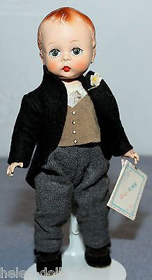 Quiz Kin Groom 1953 Vintage Madame Alexander Quizi Kin 8 Tall