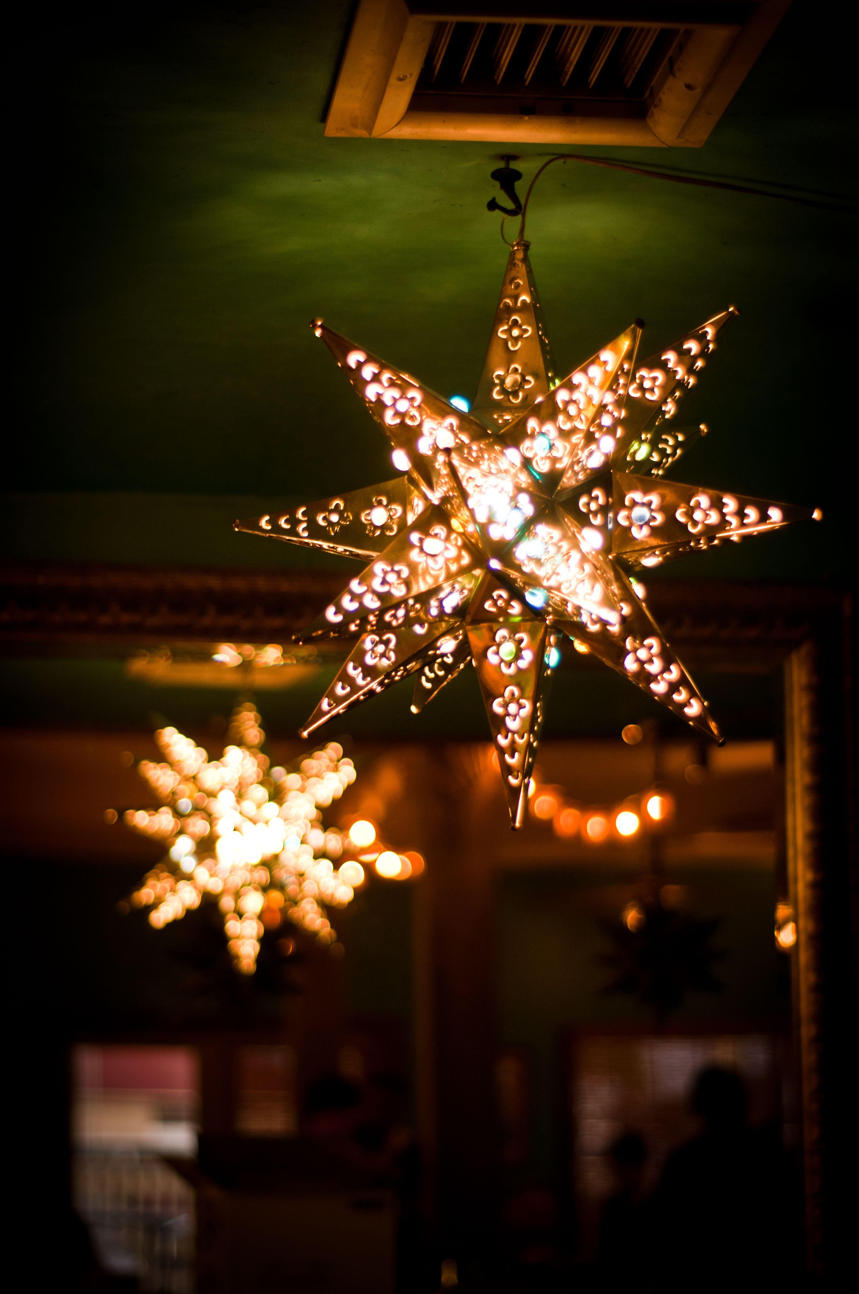 Stars Spanish Home Decor Hanging Star Light Morovian Star Light