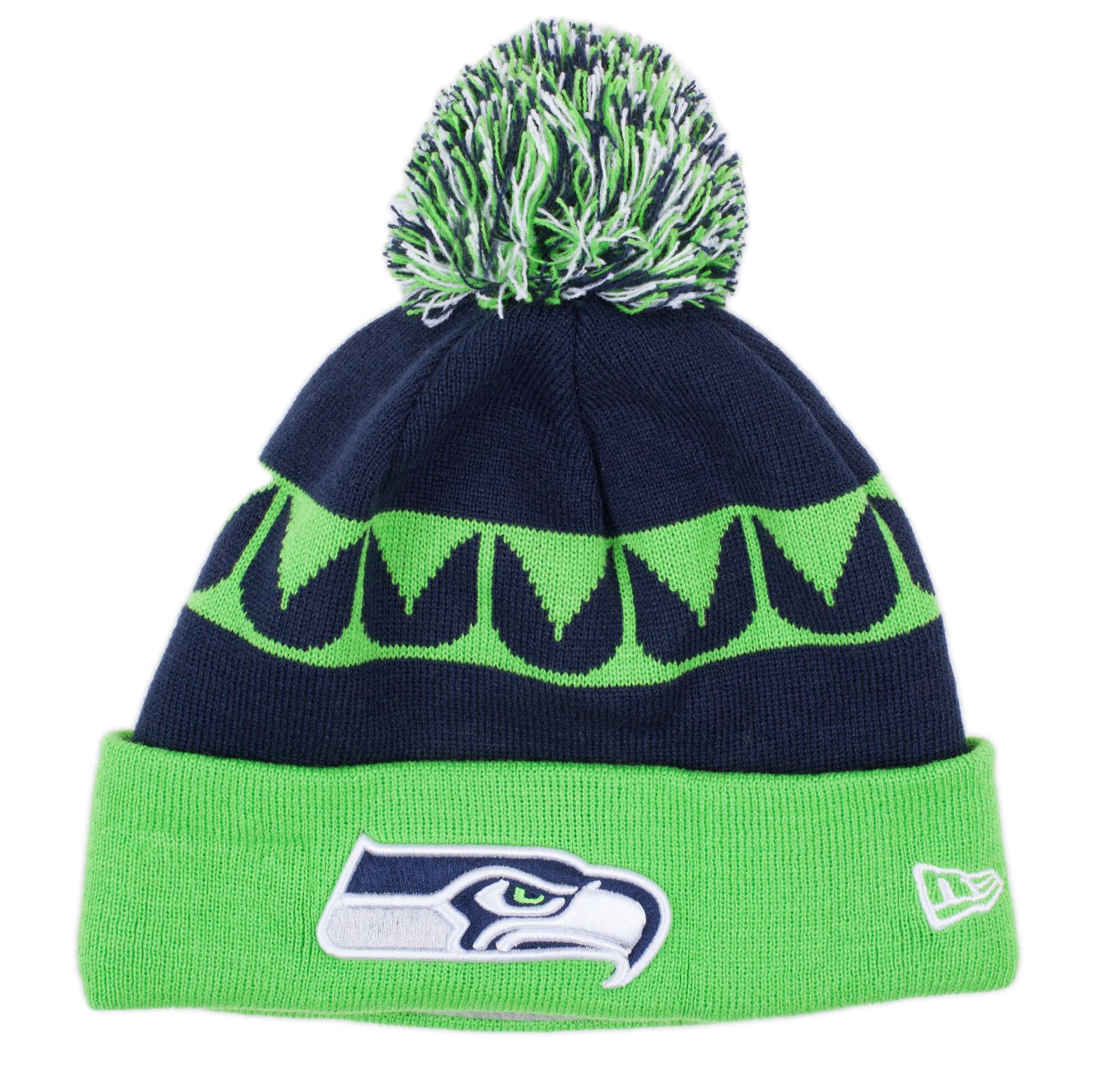 Caps - Knit - New Era NFL 2013 Sport Knit Hat - Seattle Seahawks - DTLR - Down Town Locker Room. Your Fashion, Your Lifestyle!