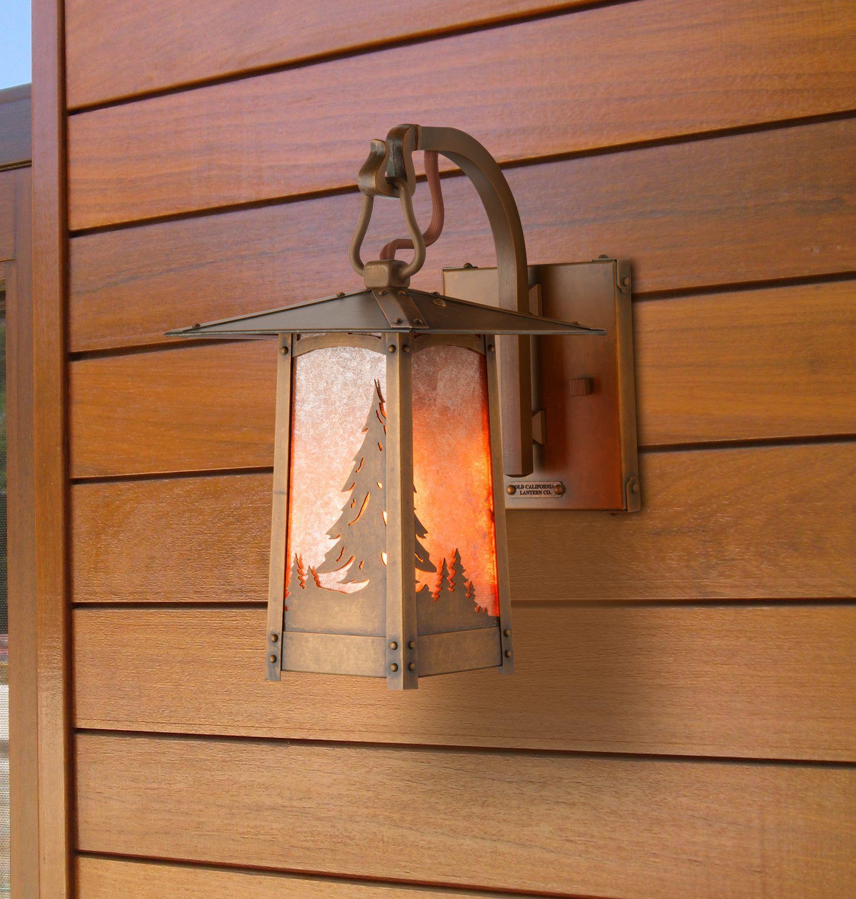 Old California Lantern Company Craftsman Lighting