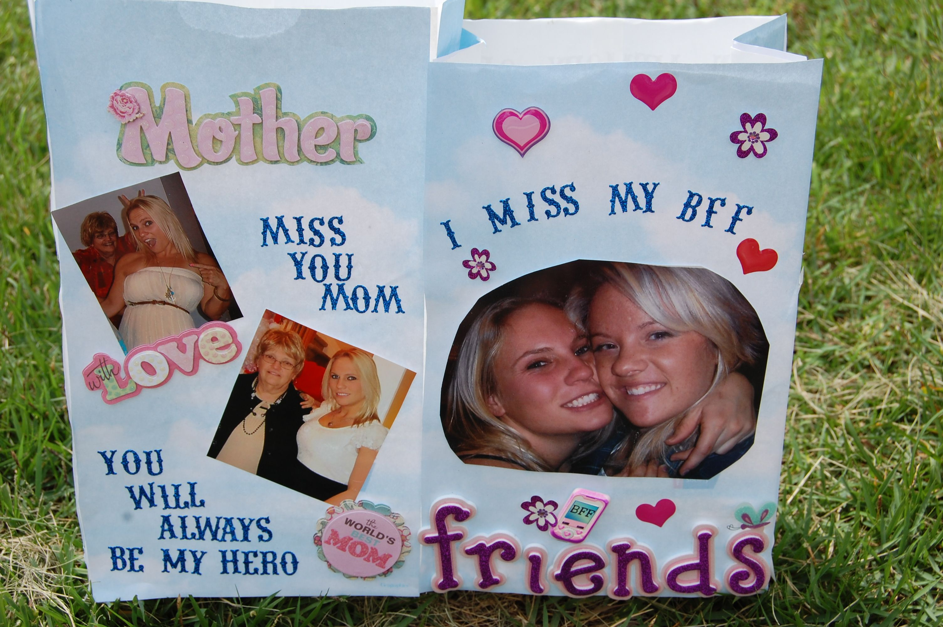 My Relay For Life Bags In Memory Of My Mom And Best Friend 3 Luminaries Paper Relay For Life Luminaries Bags