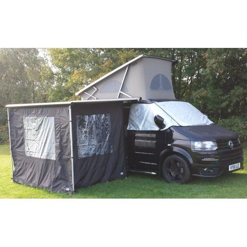 vw t5 fiamma f45 camping room vancamper camping room. Black Bedroom Furniture Sets. Home Design Ideas