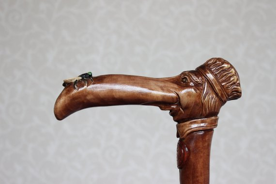 Custom walking cane