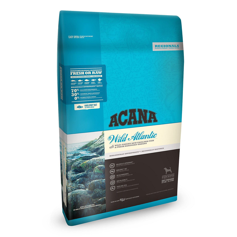 Acana Wild Atlantic Dry Dog Food 25 Lbs Dry Dog Food Dog Food