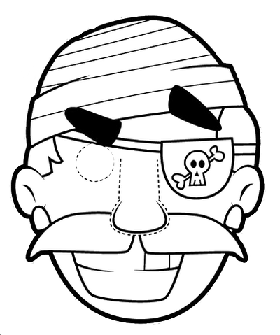 pirate power rangers coloring pages   Masks coloring - chantalou1607eden.eklablog.com ...