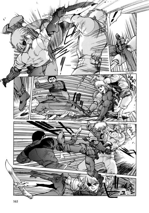 Royalboiler Morioh Appleseed Vol 4 Knife Fight Planning To Do A Lot More Fight Scenes Here Because It What Comic Book Artists Comic Panels Aircraft Art