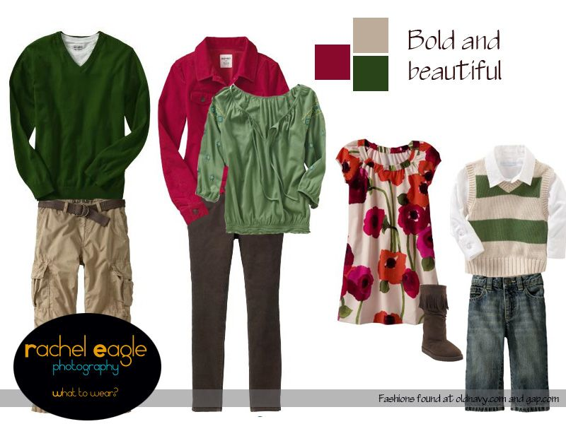 Family Picture Clothing Ideas For Fall