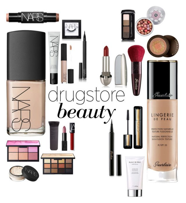 """NARS vs GURLAIN"" by khawlaalshehhi on Polyvore featuring beauty, NARS Cosmetics and Guerlain"