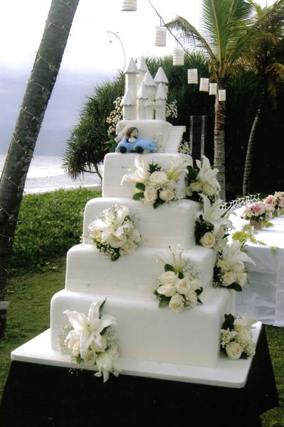 Wedding Cake Table Pictures